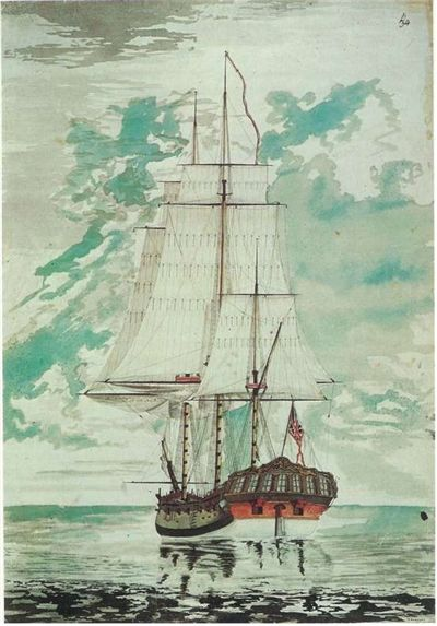 Picture Of Hms Resolution By Henry Roberts