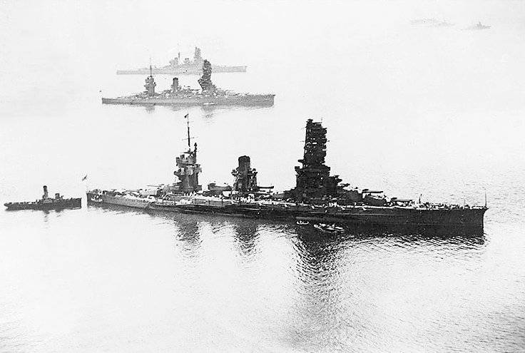 Picture Of Japanese Battleships Yamashiro