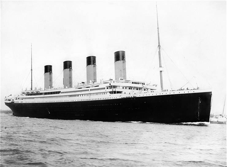 Picture Of RMS Titanic Ship