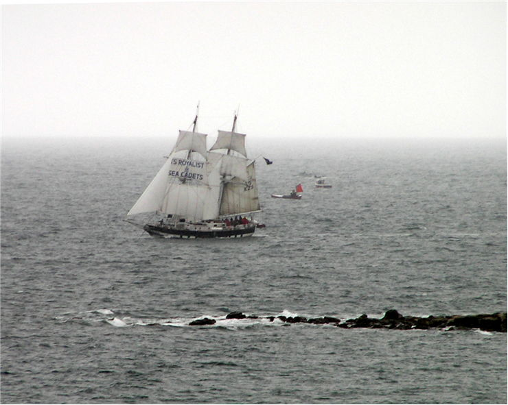 Picture Of Ships At Tall Ships Festival