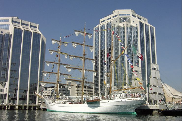 Picture Of Tall Ships Sails