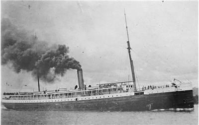 Picture Of The American Steamship Columbia