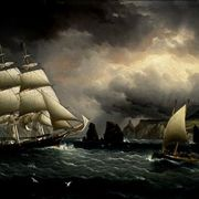 Picture Of The Clipper Ship Flying Cloud By Buttersworth