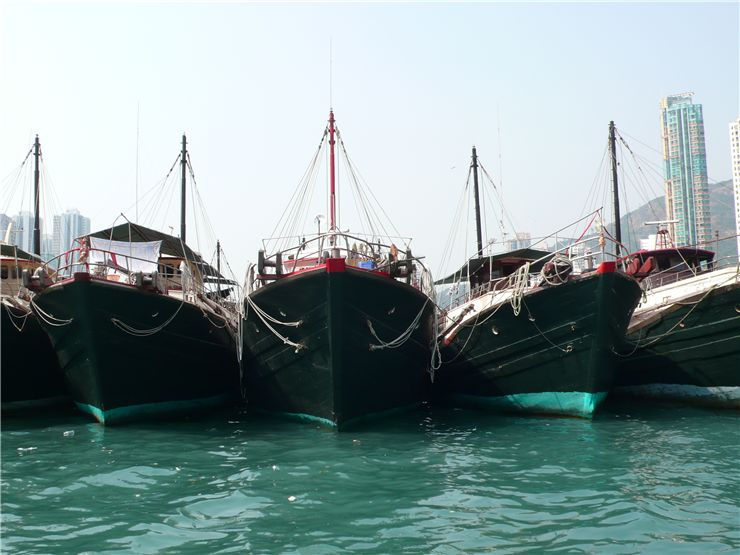 Picture Of Traditional Fishing Ships