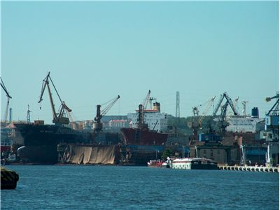 Picture Of Vessels In Shipyard